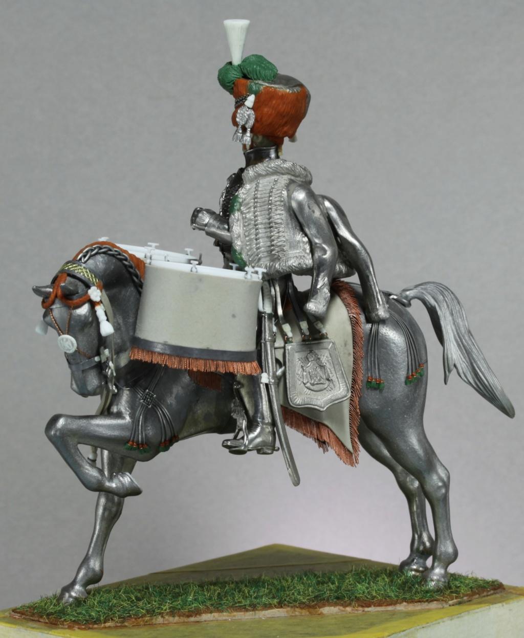 Timbalier des chasseurs à cheval de la Garde Impériale (tenue à la hussarde, 1810) Img_2415