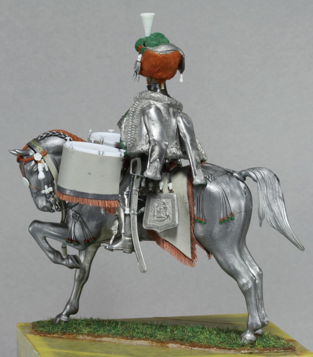 Timbalier des chasseurs à cheval de la Garde Impériale (tenue à la hussarde, 1810) Img_2416