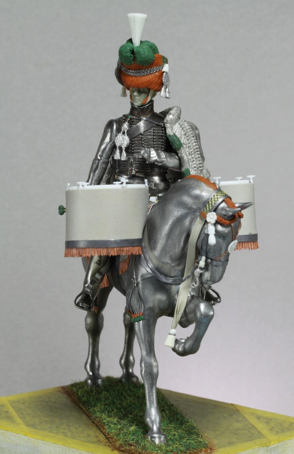 Timbalier des chasseurs à cheval de la Garde Impériale (tenue à la hussarde, 1810) Img_2417