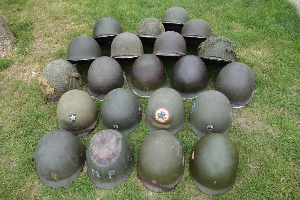 casques et liners US ww2 de SENON89 Dsc01835