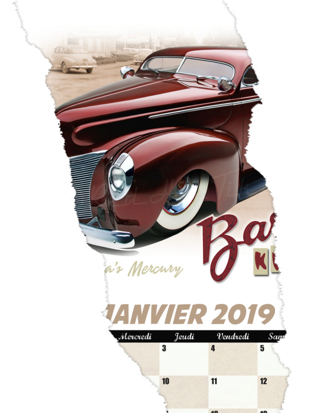 Calendrier Red Hot Tiki 2019 01janv13