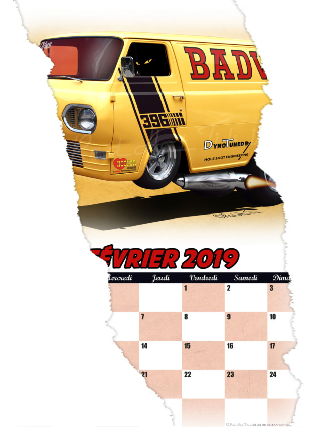 Calendrier Red Hot Tiki 2019 02fevr10