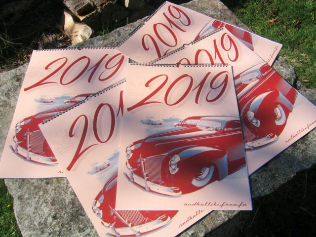 Calendrier Red Hot Tiki 2019 2019b10