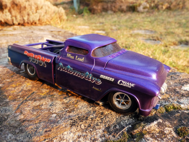 1955 Chevy Cameo pick up - amt - 1/25 scale P1000217