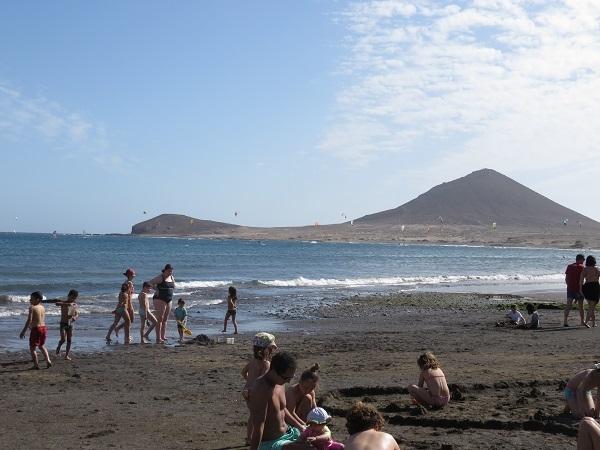 Kite surfing accident at El Médano. 50936-10