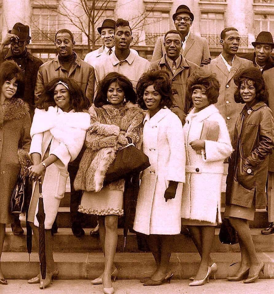 The Supremes, Martha and the Vandellas, The Temptations, and Smokey Robinson and the Miracles, all in the same picture. 51611010