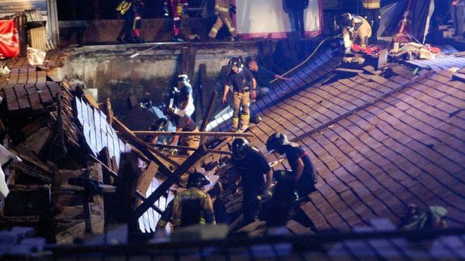 Spain festival collapse in Vigo injures hundreds _1029410
