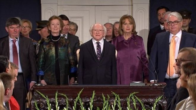 Michael D Higgins Inaugurated For Second Term As President _1042610