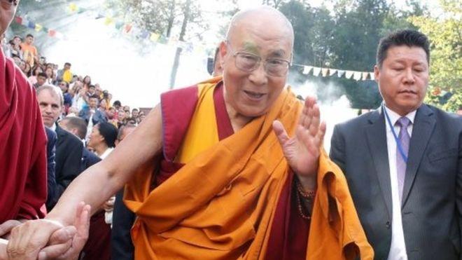 Dalai Lama, 83, taken to hospital in India _1063710