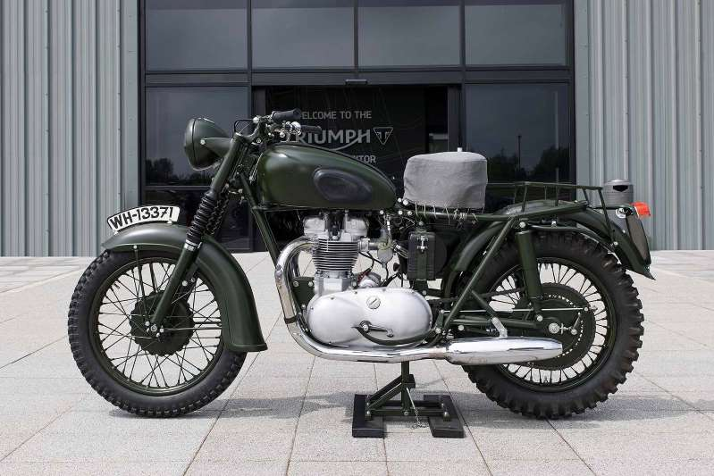 "Steve McQueens bike from ""The Great Escape"". Aazduh10"