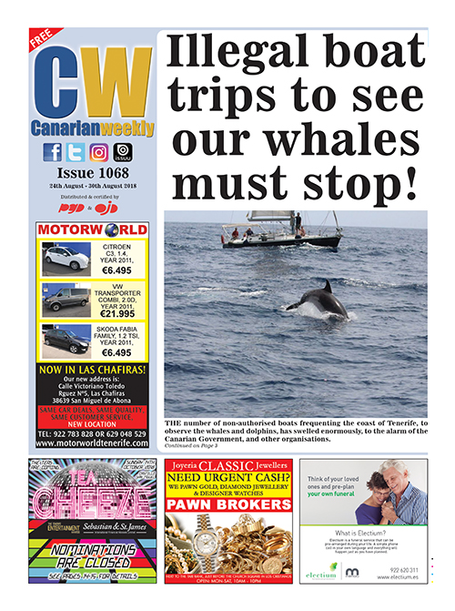 Illegal Whale and Dolphin trips must stop. Cw-10611