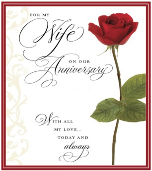 Happy Anniversary to my lovely wife.  For-my10
