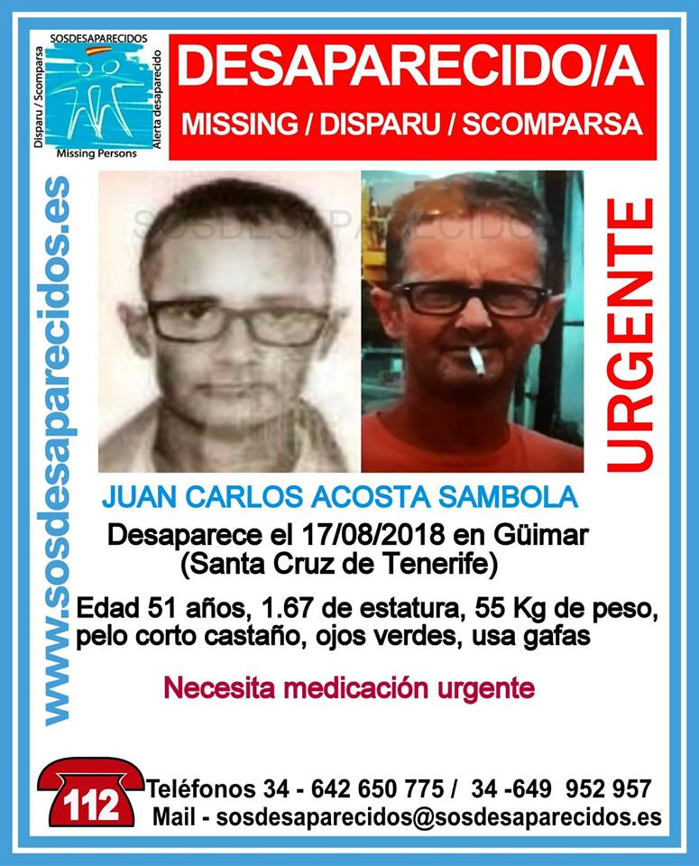 Can you help find missing man? Juan-c10