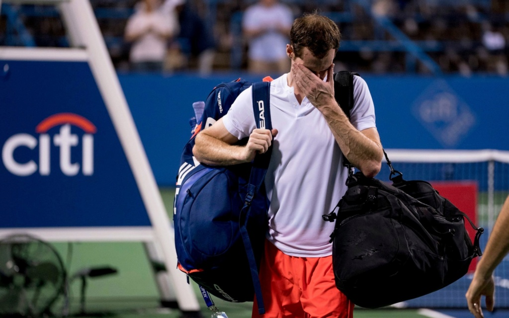 Murray pulls out of Citi Open. Telemm10