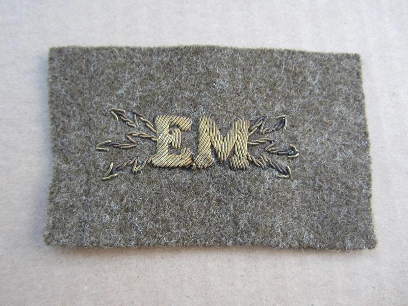 Écusson de spécialité transmission en Etat Major 1940.ESC - AVR 1 VENDU Img_7417