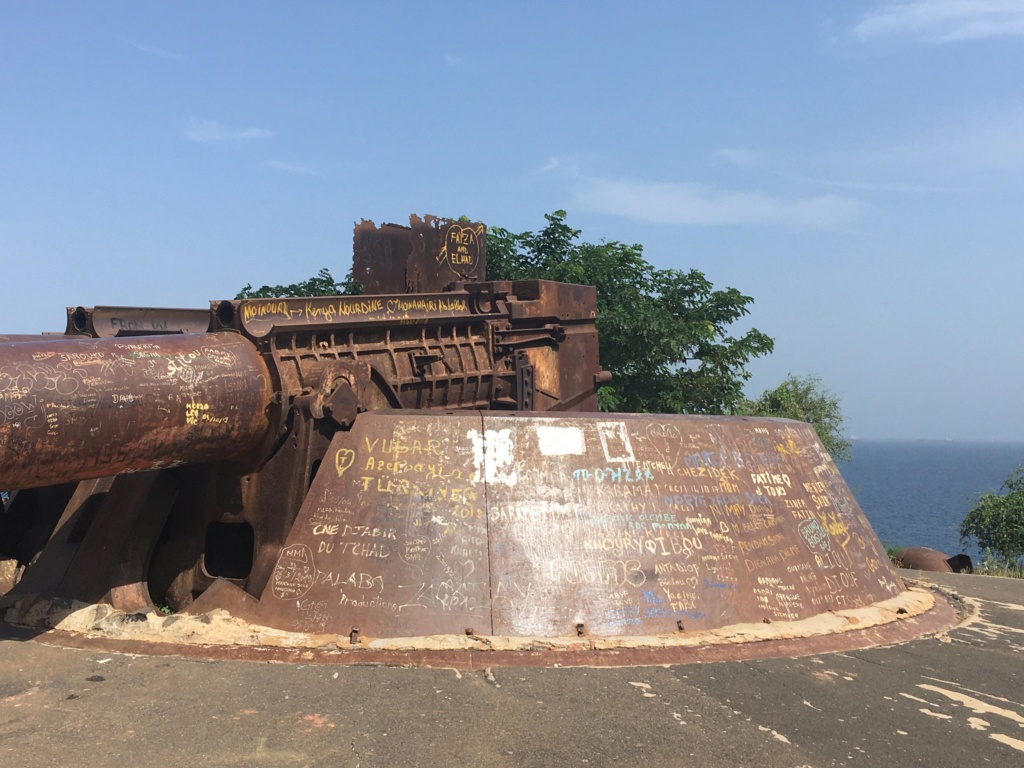 Batterie de Gorée et fortifications Img_4312