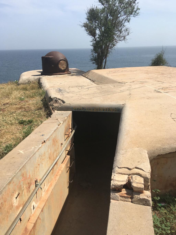 Batterie de Gorée et fortifications Img_4319