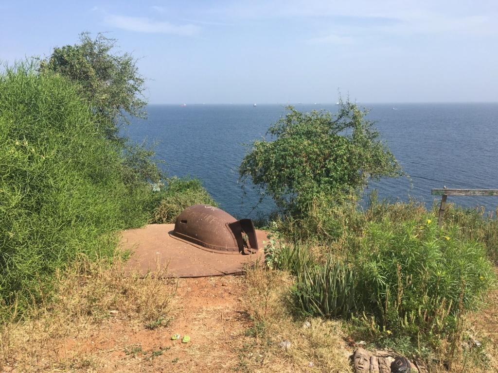 Batterie de Gorée et fortifications Img_4323