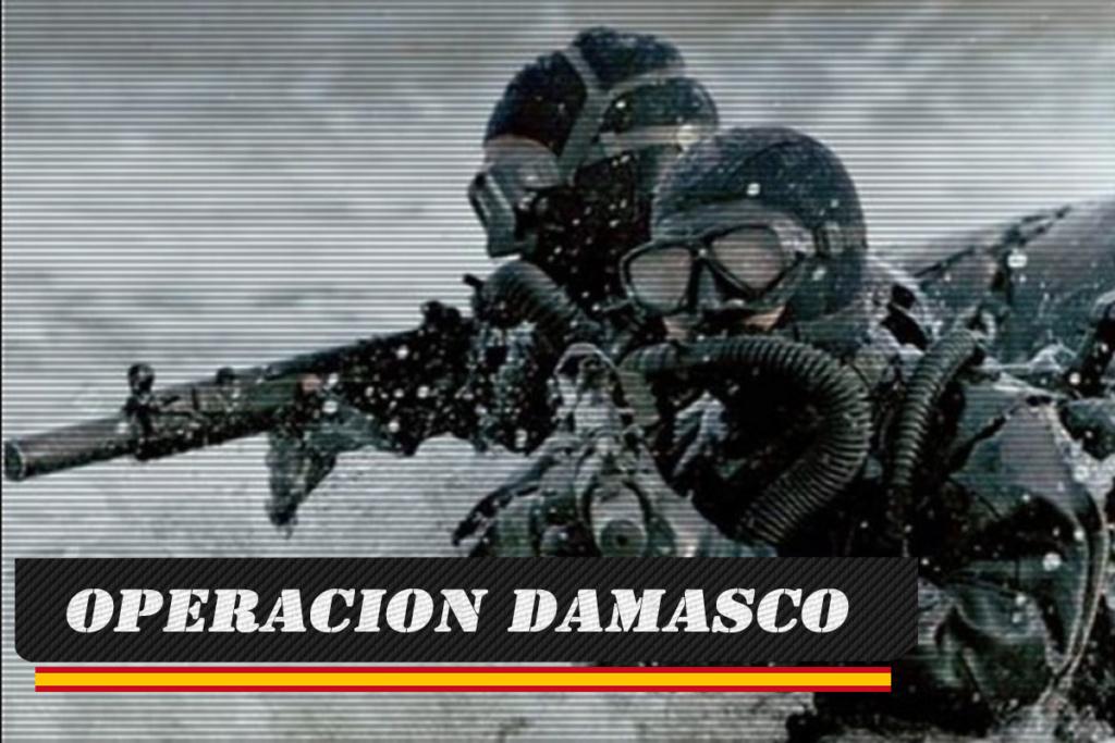 OPERACION DAMASCO JUEVES 17 DE ENERO DE 2019 A LAS 22:00 Damasc10