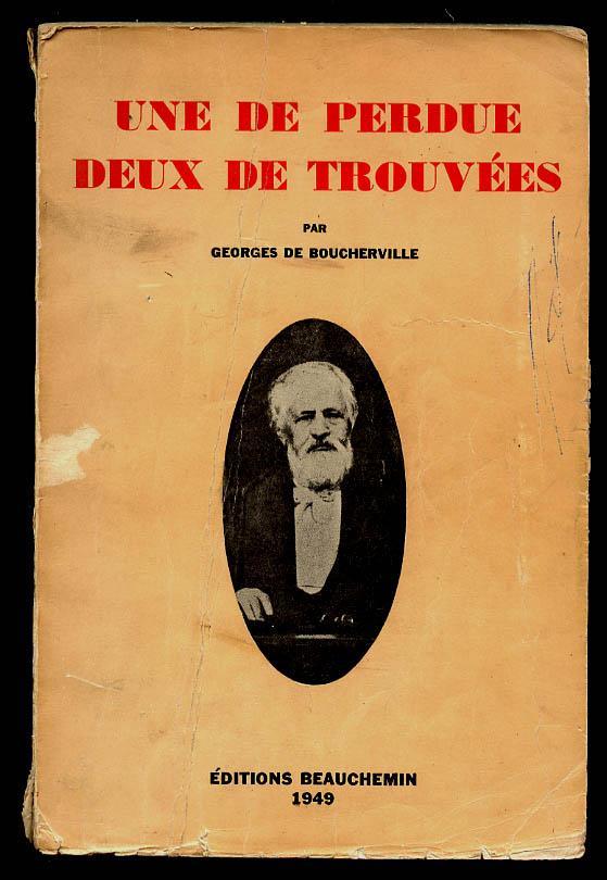 DE BOUCHERVILLE Georges 78483010