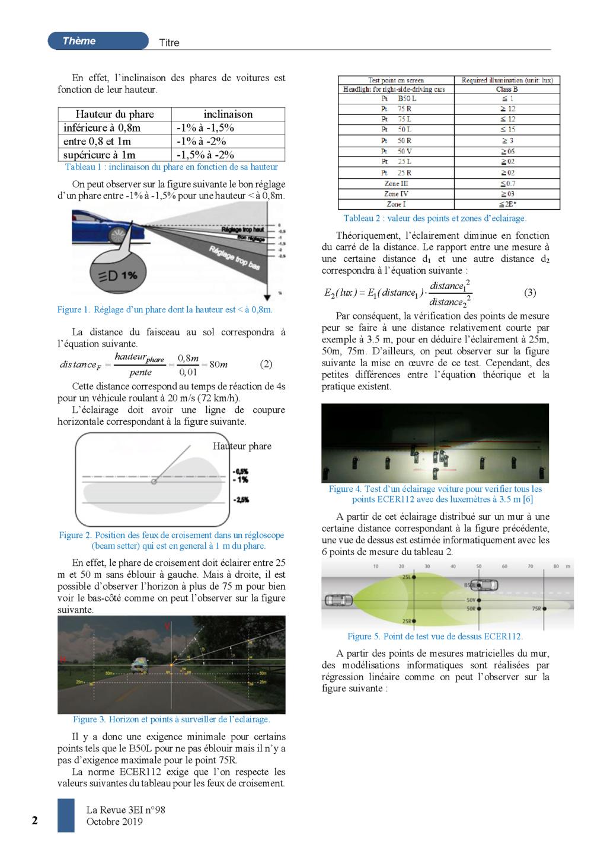 eclairage à DEL pour velo ( LED light for bike) Light emitting diode Banc_d37