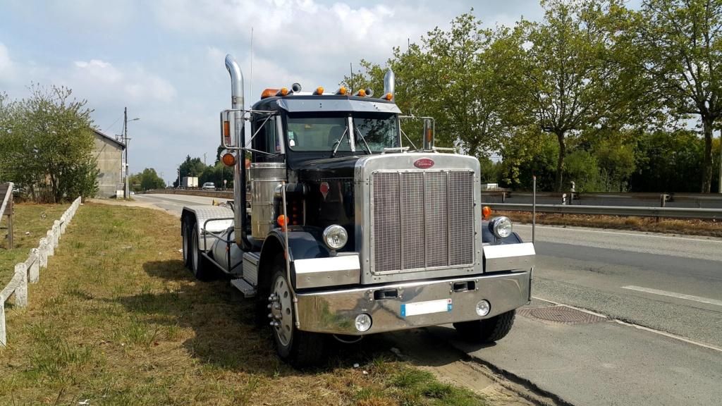 Camion Americain  PETERBILT Modèle 359  de 1984 20180926