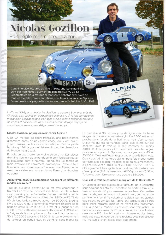 Nicolas GOZILLON- Le pape des ALPINES -Interview  Img41010