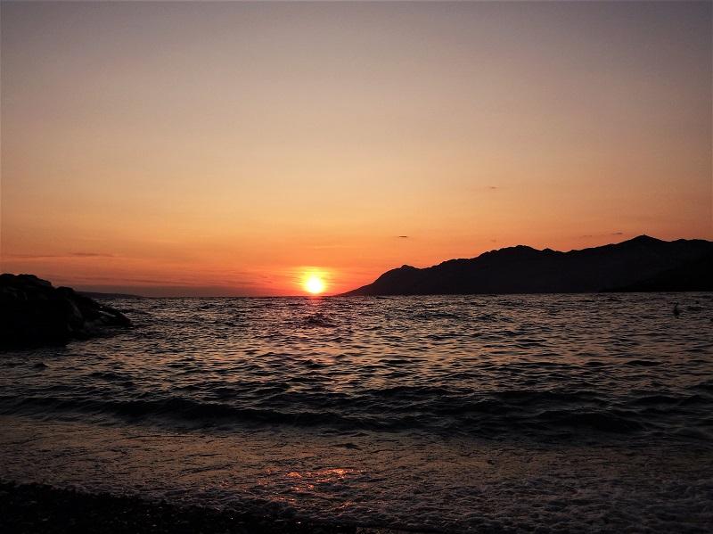 Ein Sonnenuntergang in Kroatien! Dscf5312
