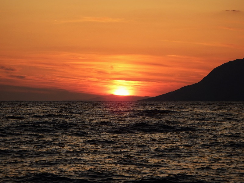 Ein Sonnenuntergang in Kroatien! Dscf5313