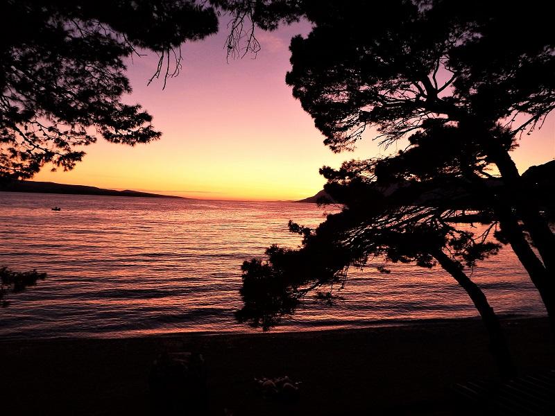 Ein Sonnenuntergang in Kroatien! Dscf5411