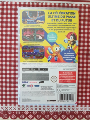( VDS ) Sonic mania plus switch comme neuf  VENDU  40603710