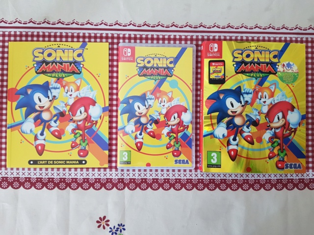 ( VDS ) Sonic mania plus switch comme neuf  VENDU  40621210