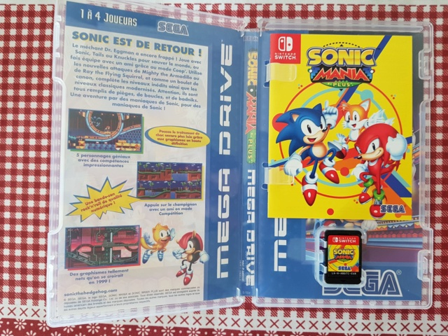 ( VDS ) Sonic mania plus switch comme neuf  VENDU  40654810