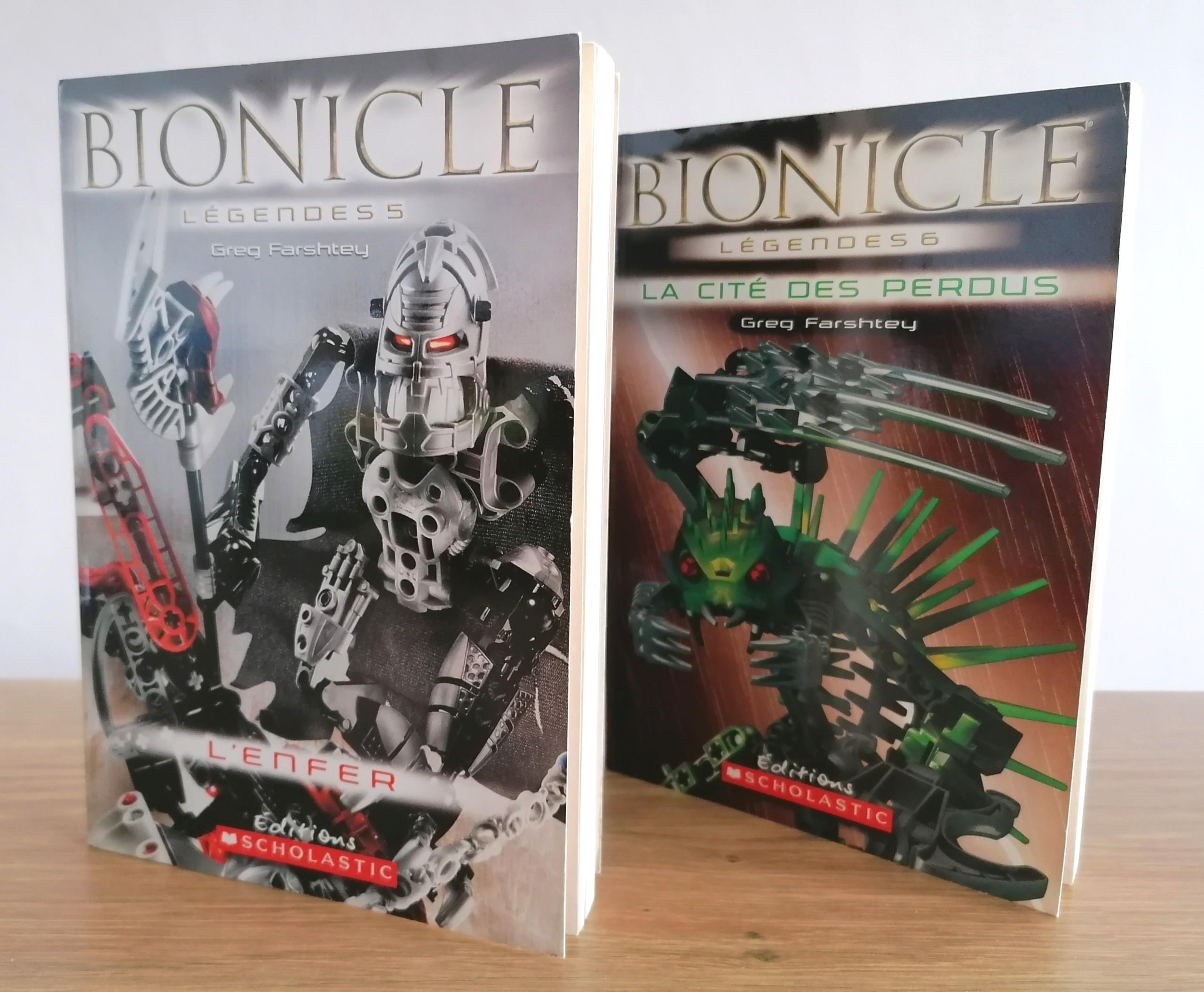 Les romans BIONICLE en français, des biens rares trop méconnus Img_2010