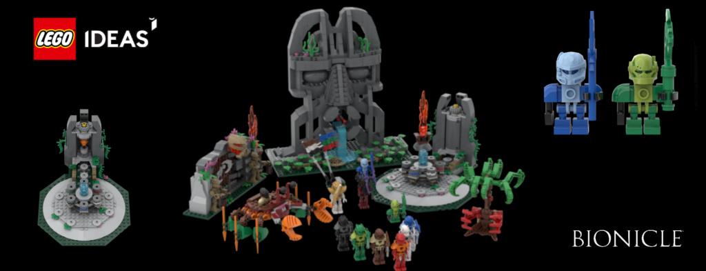 BIONICLE Le Temple du Temps, le projet LEGO Ideas du moment Temple11
