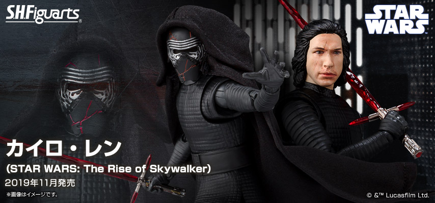 STAR WARS S.H.Figuarts - KYLO REN - The Rise Of Skywalker 20190911