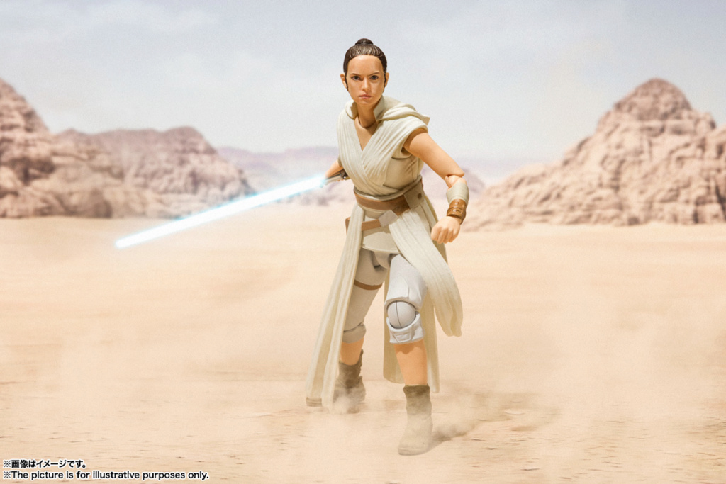 STAR WARS S.H.Figuarts - REY & D-O - The Rise Of Skywalker Sw_shf18