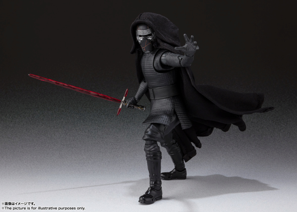 STAR WARS S.H.Figuarts - KYLO REN - The Rise Of Skywalker Sw_shf23