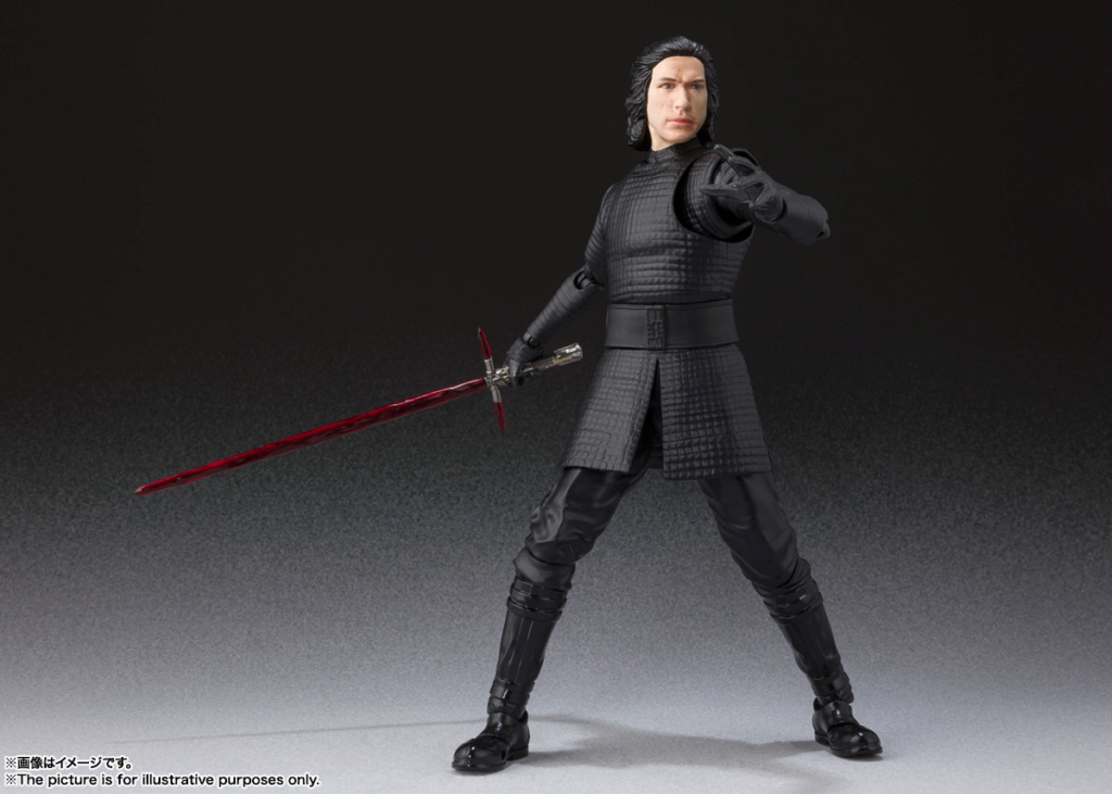 STAR WARS S.H.Figuarts - KYLO REN - The Rise Of Skywalker Sw_shf26