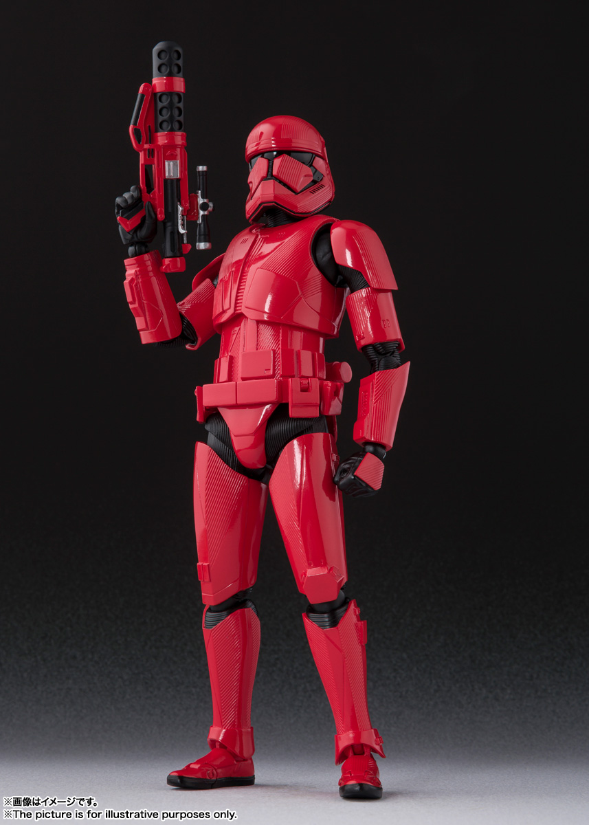 STAR WARS S.H.Figuarts - SITHTROOPER - The Rise Of Skywalker Sw_shf29