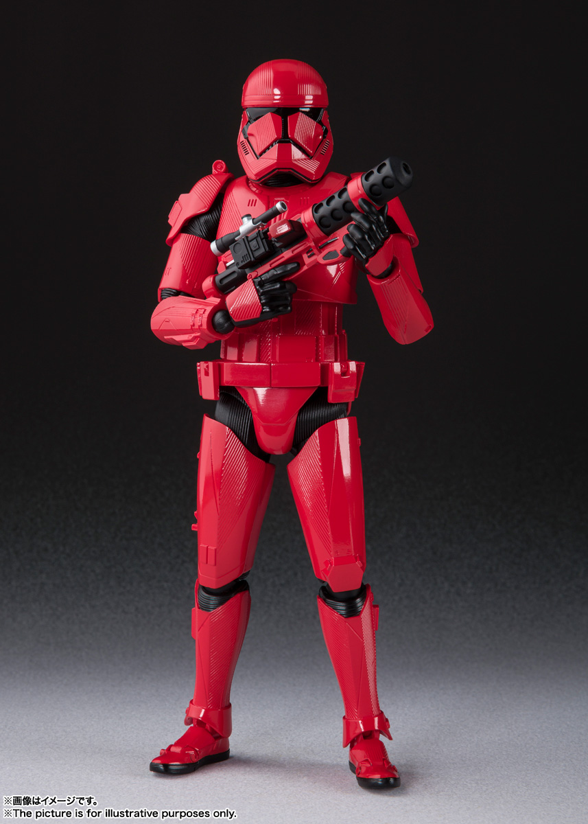STAR WARS S.H.Figuarts - SITHTROOPER - The Rise Of Skywalker Sw_shf30