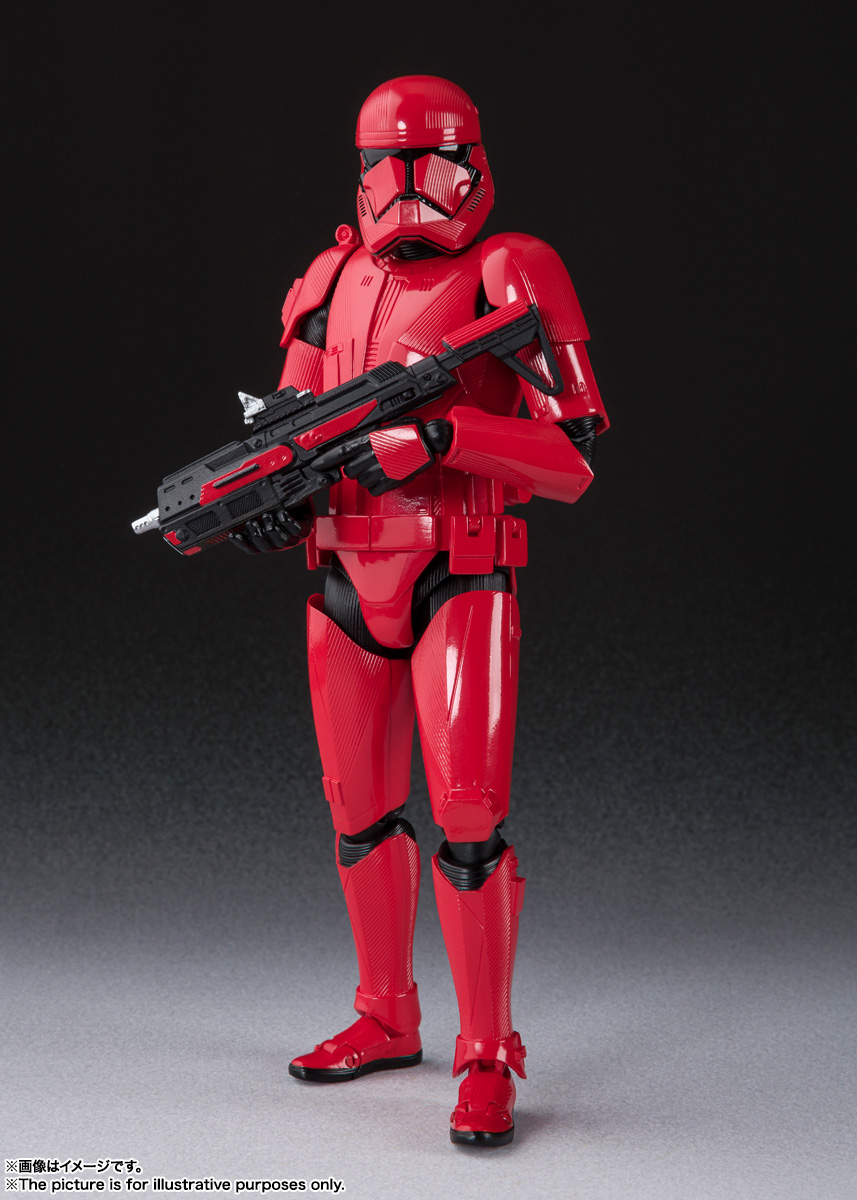 STAR WARS S.H.Figuarts - SITHTROOPER - The Rise Of Skywalker Sw_shf31