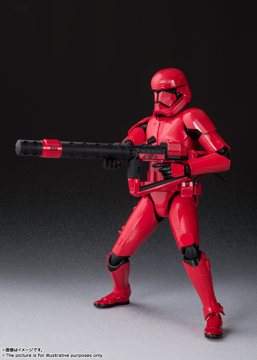 STAR WARS S.H.Figuarts - SITHTROOPER - The Rise Of Skywalker Sw_shf32