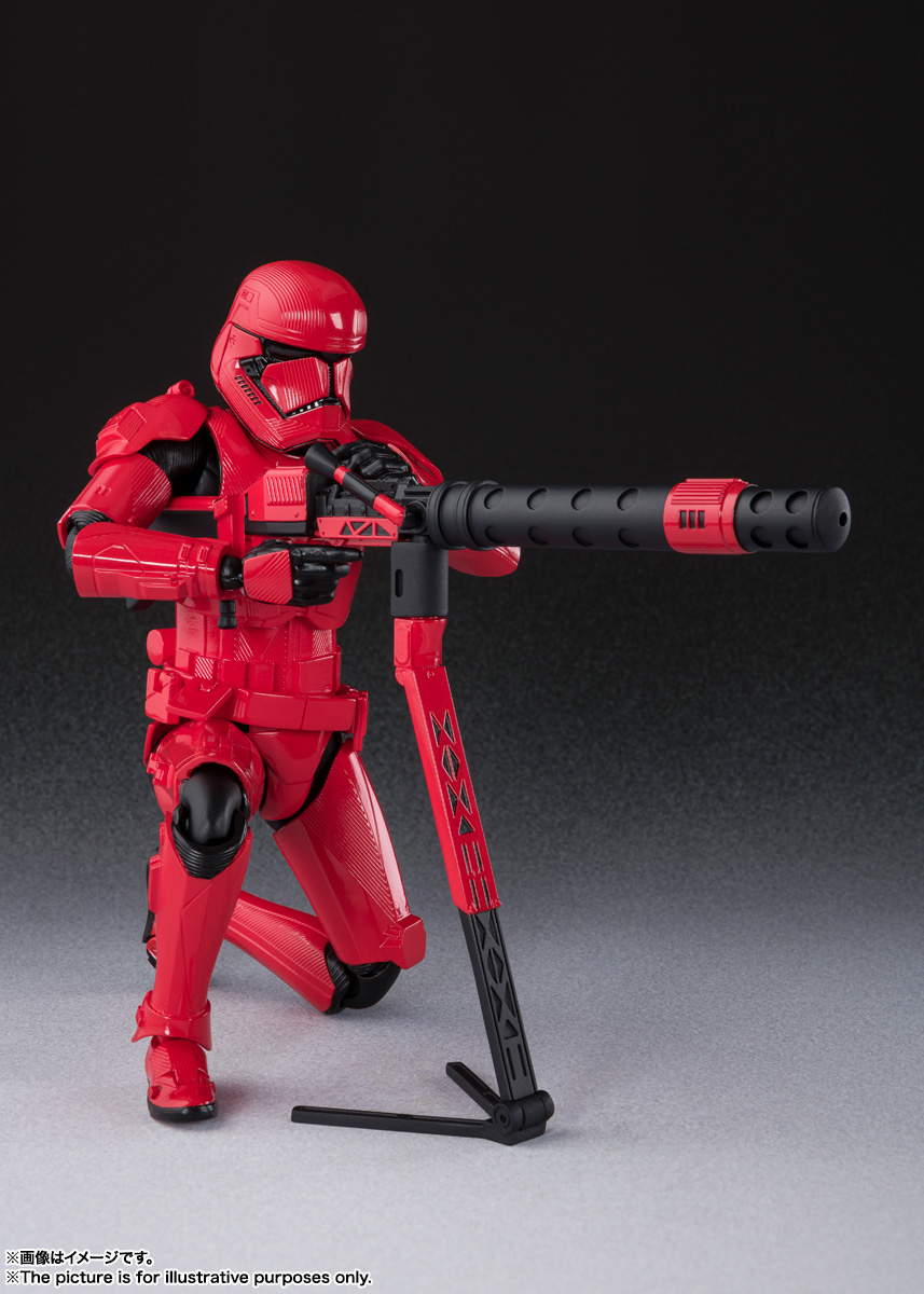 STAR WARS S.H.Figuarts - SITHTROOPER - The Rise Of Skywalker Sw_shf33
