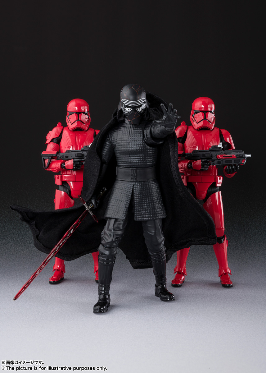 STAR WARS S.H.Figuarts - SITHTROOPER - The Rise Of Skywalker Sw_shf35