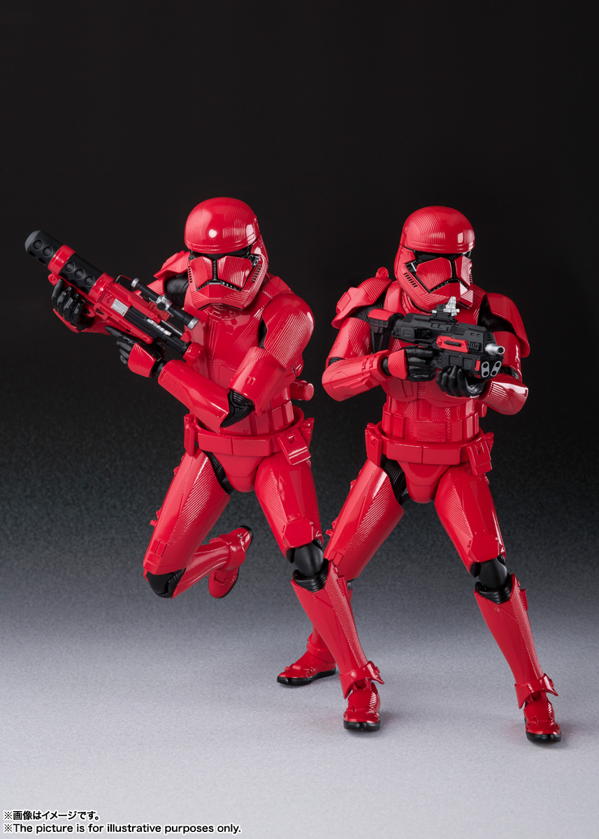 STAR WARS S.H.Figuarts - SITHTROOPER - The Rise Of Skywalker Sw_shf36