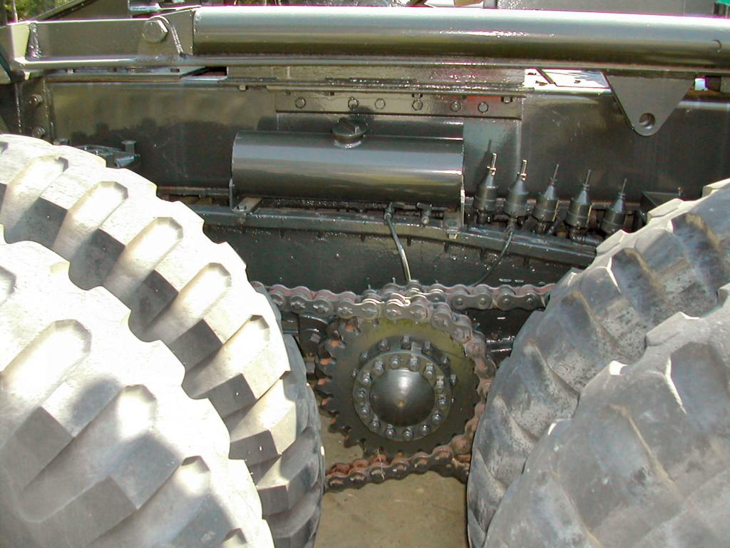 La meccanica del Dragon Vagon 110