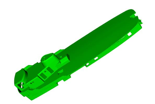 """MB """"Premuda"""" u crtežima CAD programa Zaslon10"""