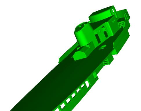 """MB """"Premuda"""" u crtežima CAD programa Zaslon11"""