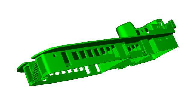 """MB """"Premuda"""" u crtežima CAD programa Zaslon12"""